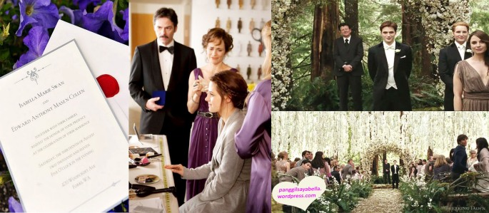 The Wedding of Edward and Bella Cullen